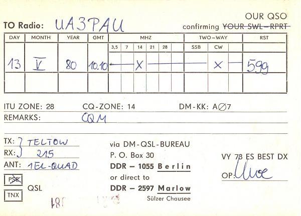 Нажмите на изображение для увеличения.  Название:DM5BA-UA3PAU-1980-qsl-2s.jpg Просмотров:3 Размер:367.8 Кб ID:284516
