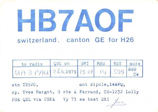 Нажмите на изображение для увеличения.  Название:HB7AOF-UA3PAU-1979-qsl.jpg Просмотров:2 Размер:317.8 Кб ID:285429