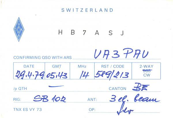 Нажмите на изображение для увеличения.  Название:HB7ASJ-UA3PAU-1979-qsl.jpg Просмотров:2 Размер:284.5 Кб ID:285483