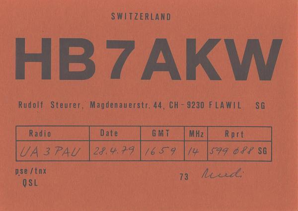 Нажмите на изображение для увеличения.  Название:HB7AKW-UA3PAU-1979-qsl.jpg Просмотров:2 Размер:414.5 Кб ID:285488