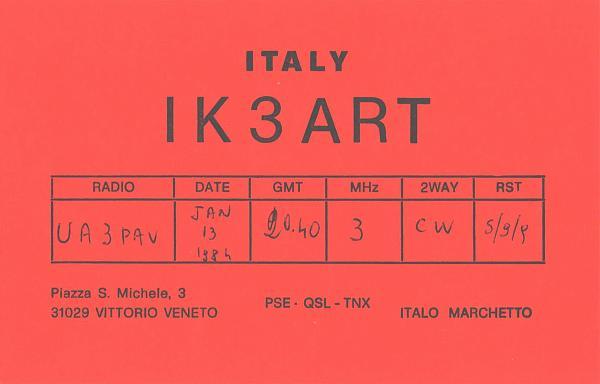 Нажмите на изображение для увеличения.  Название:IK3ART-UA3PAV-1984-qsl.jpg Просмотров:2 Размер:261.9 Кб ID:285557