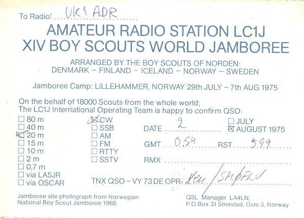Нажмите на изображение для увеличения.  Название:LC1J-UK1ADR-1975-qsl-2s.jpg Просмотров:2 Размер:628.1 Кб ID:285650