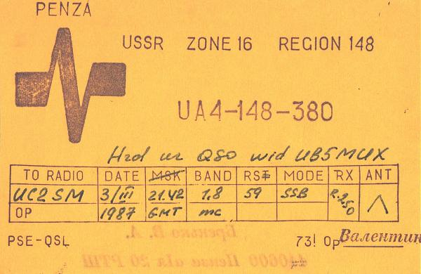 Нажмите на изображение для увеличения.  Название:UA4-148-380-to-UC2SM-1987-qsl.jpg Просмотров:2 Размер:462.8 Кб ID:285794