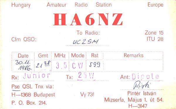 Нажмите на изображение для увеличения.  Название:HA6NZ-UC2SM-1986-qsl.jpg Просмотров:2 Размер:301.9 Кб ID:285798
