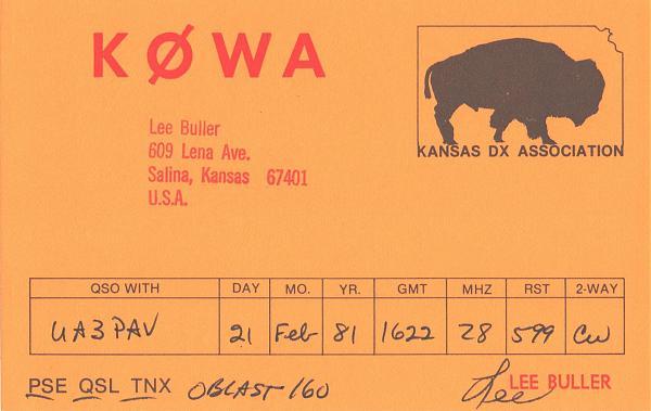 Нажмите на изображение для увеличения.  Название:K0WA-UA3PAV-1981-qsl-1s.jpg Просмотров:2 Размер:380.2 Кб ID:286015