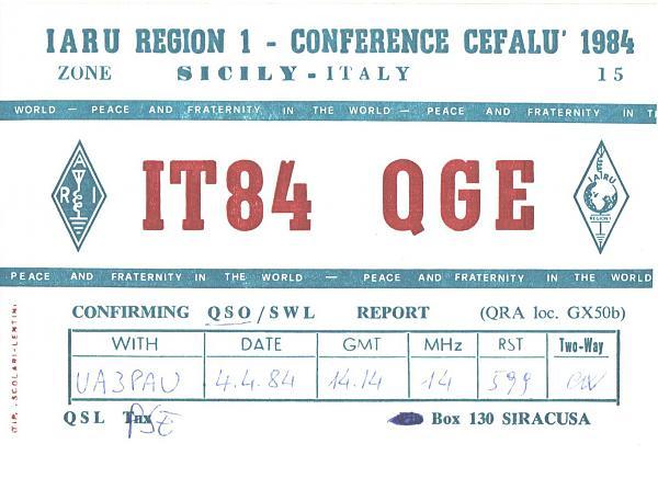 Нажмите на изображение для увеличения.  Название:IT84QGE-UA3PAU-1984-qsl.jpg Просмотров:2 Размер:385.6 Кб ID:286034