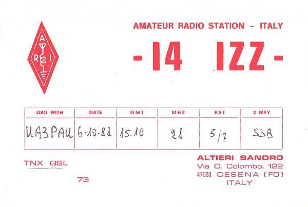 Нажмите на изображение для увеличения.  Название:I4IZZ-UA3PAU-1981-qsl-1s.jpg Просмотров:2 Размер:234.9 Кб ID:286069