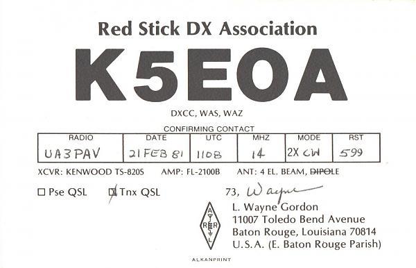 Нажмите на изображение для увеличения.  Название:K5EOA-UA3PAV-1981-qsl.jpg Просмотров:2 Размер:252.6 Кб ID:286095