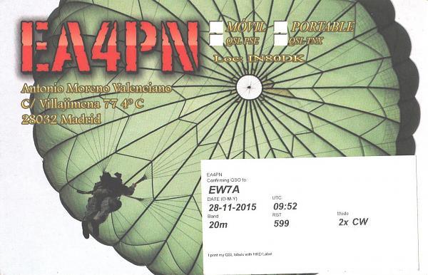 Нажмите на изображение для увеличения.  Название:EA4PN-EW7A-2015-qsl-2s.jpg Просмотров:2 Размер:924.9 Кб ID:286128