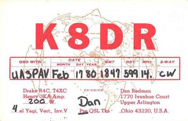 Нажмите на изображение для увеличения.  Название:K8DR-UA3PAV-1980-qsl.jpg Просмотров:2 Размер:413.7 Кб ID:286164
