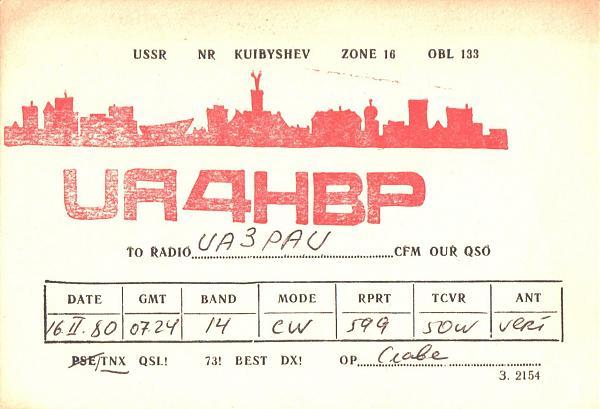 Нажмите на изображение для увеличения.  Название:UA4HBP-UA3PAU-1980-qsl1.jpg Просмотров:2 Размер:413.1 Кб ID:286173