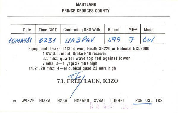 Нажмите на изображение для увеличения.  Название:K3ZO-UA3PAV-1981-qsl-2s.jpg Просмотров:2 Размер:271.1 Кб ID:286236