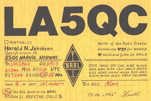 Нажмите на изображение для увеличения.  Название:LA5QC-UA3PAV-1980-qsl.jpg Просмотров:2 Размер:589.1 Кб ID:286323