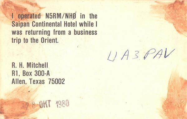 Нажмите на изображение для увеличения.  Название:N5RM_NH0-UA3PAV-1980-qsl-2s.jpg Просмотров:2 Размер:321.5 Кб ID:286701
