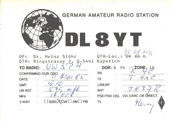 Нажмите на изображение для увеличения.  Название:DL8YT-UW3PA-1985-qsl.jpg Просмотров:2 Размер:330.3 Кб ID:286730