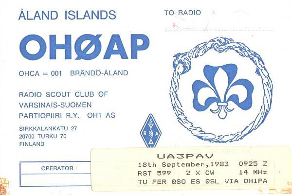 Нажмите на изображение для увеличения.  Название:OH0AP-UA3PAV-1983-qsl.jpg Просмотров:2 Размер:648.3 Кб ID:286789