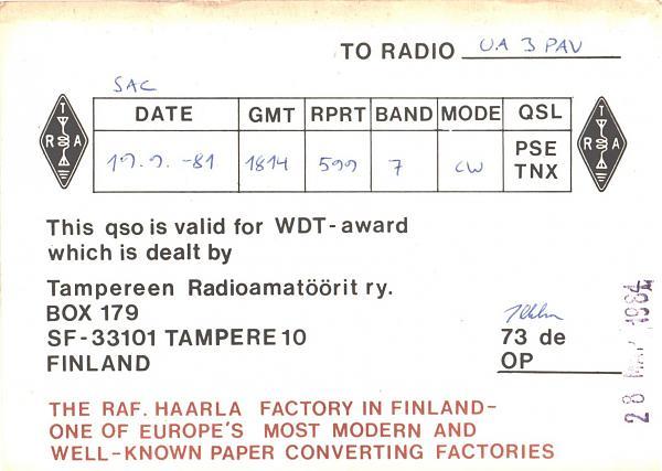 Нажмите на изображение для увеличения.  Название:OH3NE-UA3PAV-1981-qsl-2s.jpg Просмотров:2 Размер:572.9 Кб ID:286797