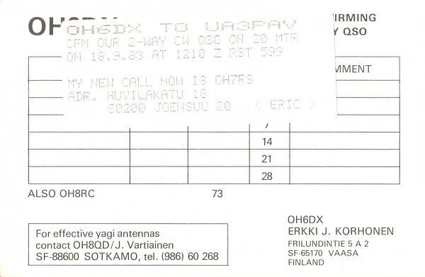 Нажмите на изображение для увеличения.  Название:OH6DX-UA3PAV-1983-qsl-2s.jpg Просмотров:2 Размер:359.8 Кб ID:286848
