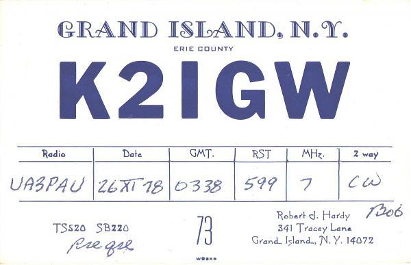 Нажмите на изображение для увеличения.  Название:K2IGW-UA3PAU-1978-qsl1.jpg Просмотров:2 Размер:272.5 Кб ID:286867