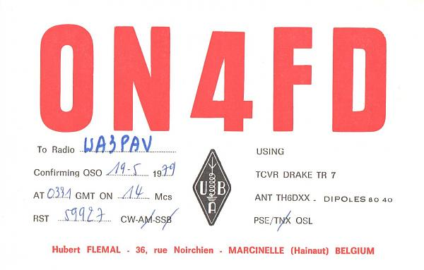 Нажмите на изображение для увеличения.  Название:ON4FD-UA3PAV-1979-qsl.jpg Просмотров:2 Размер:641.1 Кб ID:287303