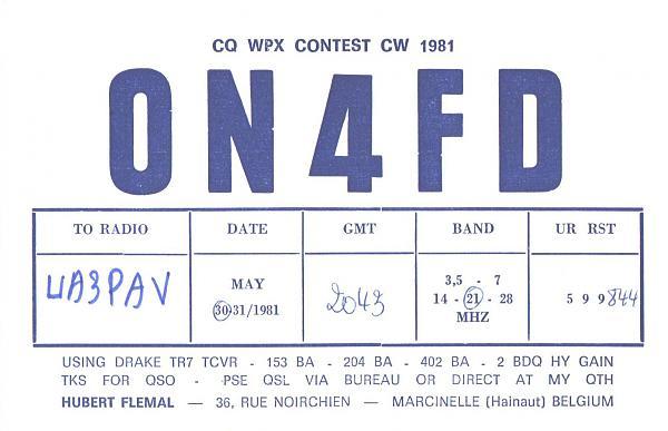 Нажмите на изображение для увеличения.  Название:ON4FD-UA3PAV-1981-qsl.jpg Просмотров:2 Размер:761.8 Кб ID:287304