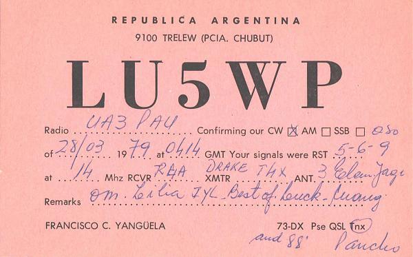 Нажмите на изображение для увеличения.  Название:LU5WP-UA3PAU-1979-qsl.jpg Просмотров:2 Размер:479.0 Кб ID:287324