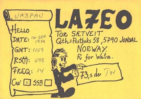 Нажмите на изображение для увеличения.  Название:LA7EO-UA3PAU-1979-qsl.jpg Просмотров:2 Размер:611.3 Кб ID:287364