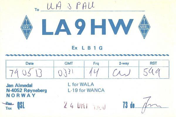 Нажмите на изображение для увеличения.  Название:LA9HW-UA3PAU-1979-qsl.jpg Просмотров:2 Размер:265.6 Кб ID:287369
