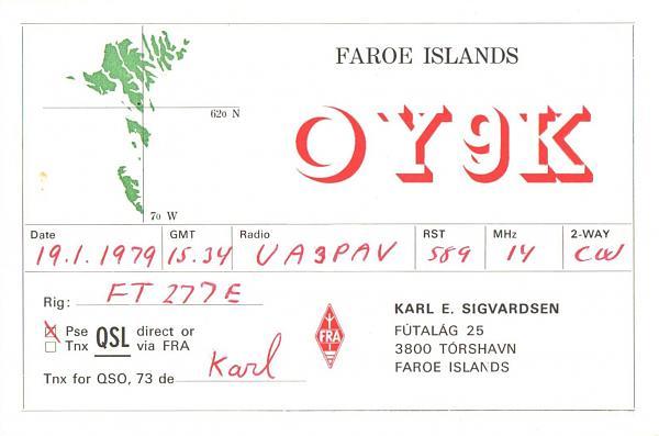 Нажмите на изображение для увеличения.  Название:OY9K-UA3PAV-1979-qsl.jpg Просмотров:2 Размер:367.2 Кб ID:287385