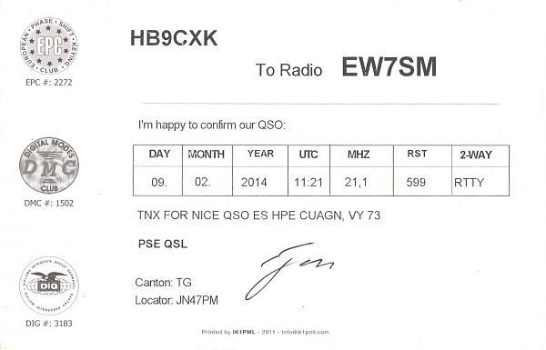 Нажмите на изображение для увеличения.  Название:HB9CXK-EW7SM-2014-qsl-2s.jpg Просмотров:2 Размер:215.5 Кб ID:287569