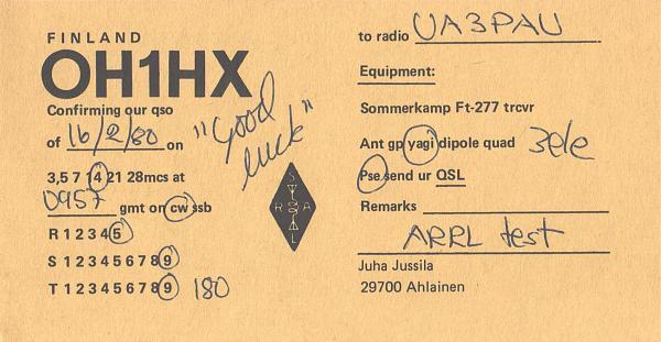 Нажмите на изображение для увеличения.  Название:OH1HX-UA3PAU-1980-qsl.jpg Просмотров:2 Размер:1.36 Мб ID:287587