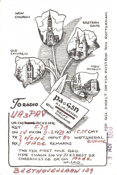 Нажмите на изображение для увеличения.  Название:PA0GSN-UA3PAV-1979-qsl.jpg Просмотров:2 Размер:524.7 Кб ID:287629
