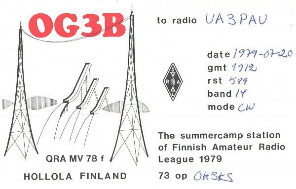 Нажмите на изображение для увеличения.  Название:OG3B-UA3PAU-1979-qsl.jpg Просмотров:2 Размер:849.5 Кб ID:287659