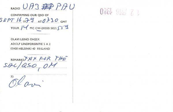 Нажмите на изображение для увеличения.  Название:OH2SX-UA3PAU-1979-qsl-2s.jpg Просмотров:2 Размер:410.6 Кб ID:287664
