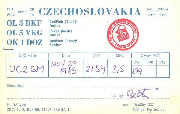 Нажмите на изображение для увеличения.  Название:OK1DOZ-UC2SM-1986-qsl.jpg Просмотров:2 Размер:594.8 Кб ID:287690