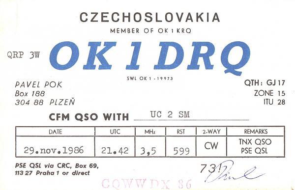 Нажмите на изображение для увеличения.  Название:OK1DRQ-UC2SM-1986-qsl.jpg Просмотров:2 Размер:472.3 Кб ID:287691