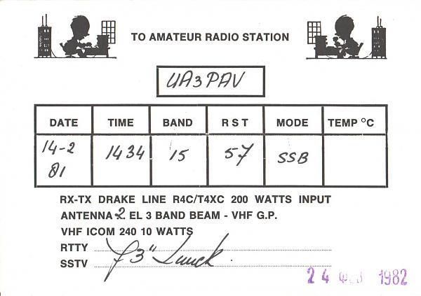 Нажмите на изображение для увеличения.  Название:PA3AOA-UA3PAV-1981-qsl-2s.jpg Просмотров:2 Размер:294.3 Кб ID:287797