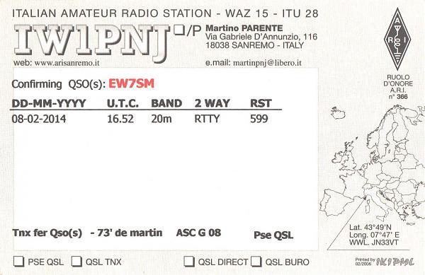 Нажмите на изображение для увеличения.  Название:IW1PNJ-EW7SM-2014-qsl-2s.jpg Просмотров:2 Размер:429.3 Кб ID:287816