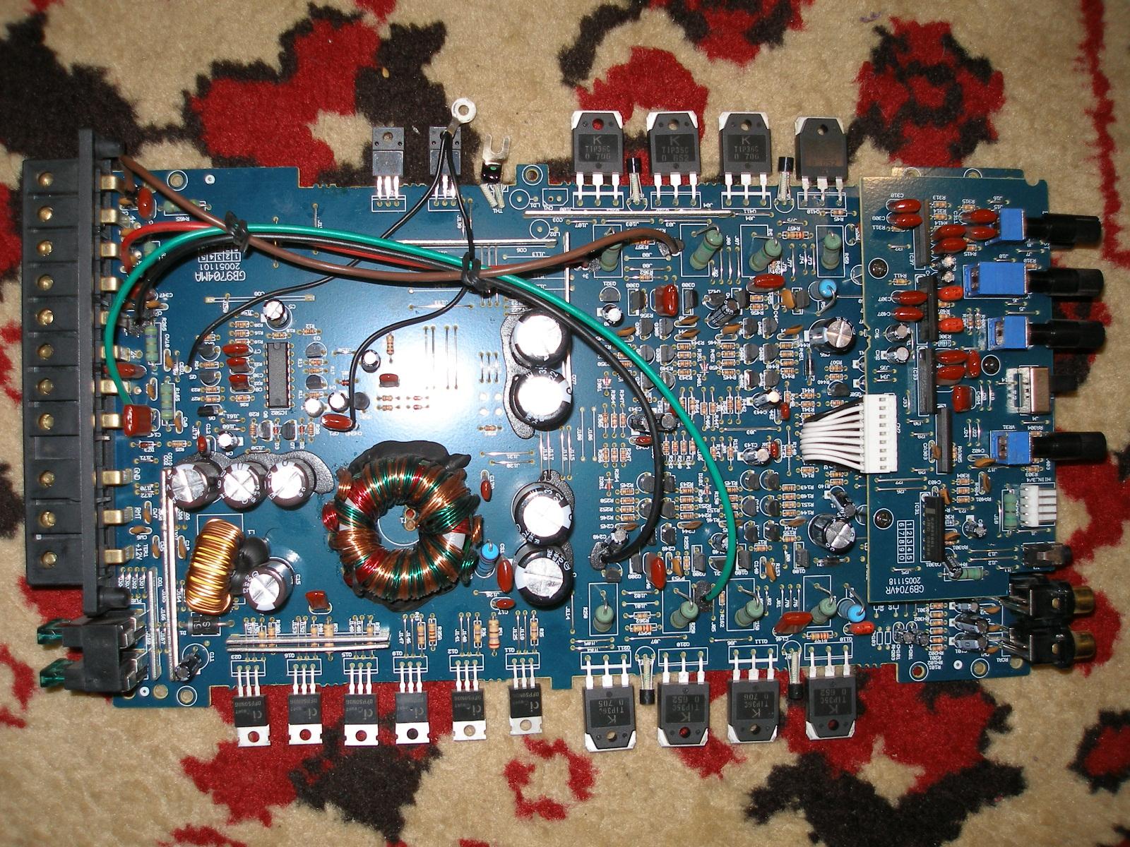 Усилитель blaupunkt gta 475