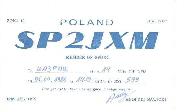 Нажмите на изображение для увеличения.  Название:SP2JXM-UA3PAU-1980-qsl.jpg Просмотров:2 Размер:212.6 Кб ID:289540