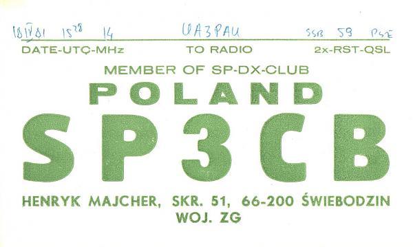 Нажмите на изображение для увеличения.  Название:SP3CB-UA3PAU-1981-qsl.jpg Просмотров:2 Размер:252.6 Кб ID:289543