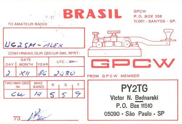 Нажмите на изображение для увеличения.  Название:PY2TG-UC2SM-1986-qsl-1s.jpg Просмотров:2 Размер:361.4 Кб ID:299503