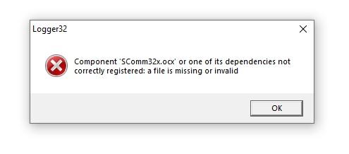 Название: Ошибка при установке Logger32 v.4.jpg Просмотров: 259  Размер: 17.8 Кб