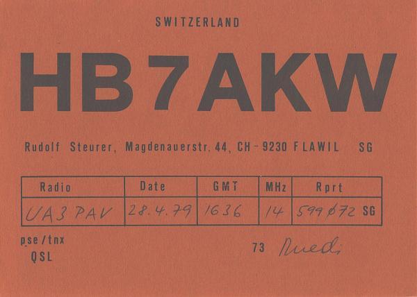 Нажмите на изображение для увеличения.  Название:HB7AKW-UA3PAV-1979-qsl.jpg Просмотров:0 Размер:451.1 Кб ID:303621