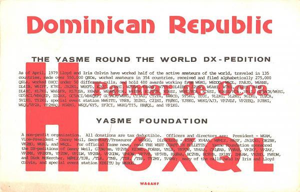 Нажмите на изображение для увеличения.  Название:HI6XQL-UA3PAV-1980-qsl-1s-YASME.jpg Просмотров:0 Размер:445.9 Кб ID:303625