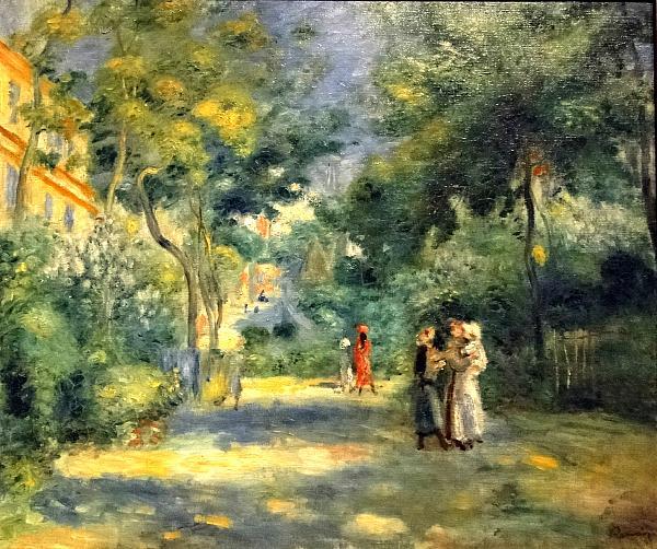 Нажмите на изображение для увеличения.  Название:Figures in a Garden of Montmartre, 1880-90.jpg Просмотров:2 Размер:1.90 Мб ID:314554