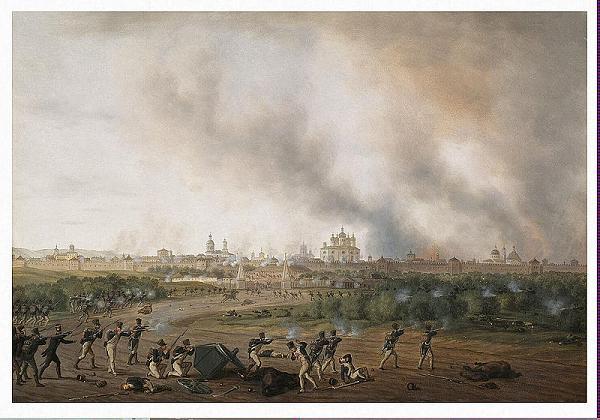 Нажмите на изображение для увеличения.  Название:800px-Battle_of_Smolensk_on_18_August_1812.jpg Просмотров:171 Размер:91.1 Кб ID:74917