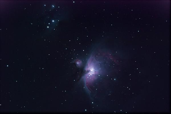 Нажмите на изображение для увеличения.  Название:M42_27x30sec.jpg Просмотров:95 Размер:128.1 Кб ID:80612