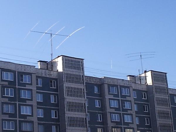 Установка антенны у RZ3DN и UA3DA