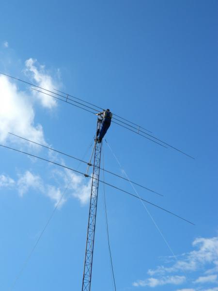 мачты и антенны